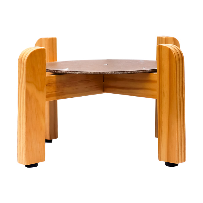7″ Wood Counter Stand